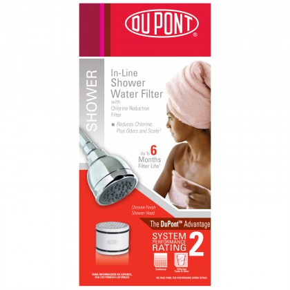 WFSS1050CH Shower Water Filter System by DuPont (Chrome)