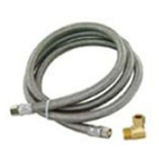 Eastman TJ10SS60DW Replacement Stainless Steel Appliance Hose