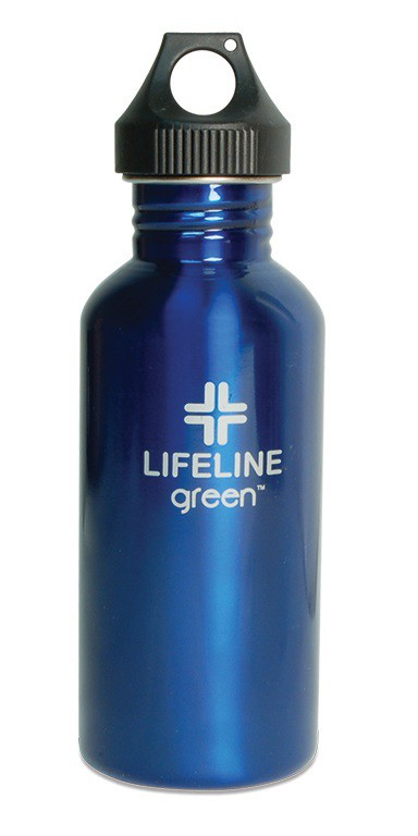 S25001BLU 27 oz. FiftyFifty Blue Water Bottle