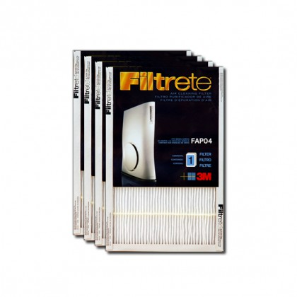 Filtrete FAPF04-4 Ultra Slim Air Purifier Replacement Filter (4-Pack)