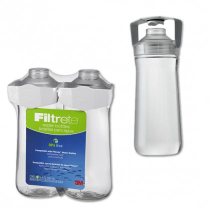 3M Filtrete RB01-W01-2 Water Bottle (2 Bottles)