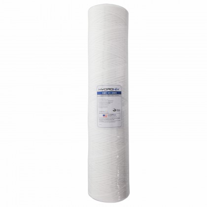 Hydronix SWC-45-2005 String Wound Sediment Water Filter (5 micron)