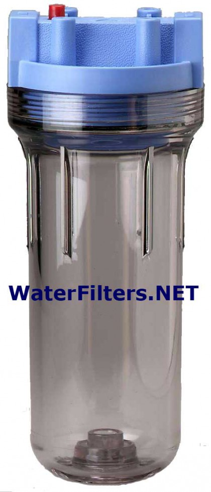 American Plumber WC38-PR Slim Line Clear Water Filter Housing