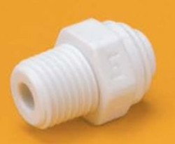 FQMC1086 - 1/2-Inch Tube QC x 3/8-Inch NPT Male Quick Connect Fitting