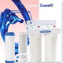 Crystal Quest Commercial Big-Inline Replaceable Double Multi ULTIMATE Water Filter System