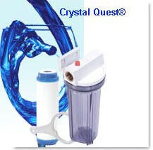 Crystal Quest Commercial Big-Inline 10-inch Single Replaceable Cartridge Water Filter System