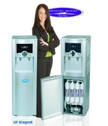 Crystal Quest Elegant Ultrafiltration Floor Water Cooler