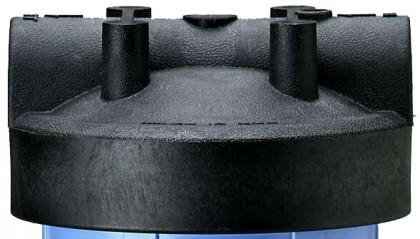 154078 - 1.5 Inch Black Cap w/o Pressure Release for Big Blue Housings