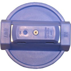154138 - 3/4-Inch Blue VIH Cap w/pr for #10 Clear Housings