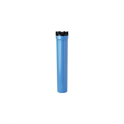 Pentek 158129 #20 Slim Line 3/8-Inch Blue Filter Housing