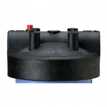 154166 - 1 Inch Black Cap w/ Pressure Release for Big Blue Housings
