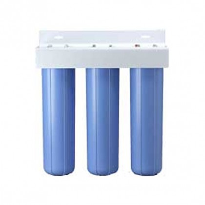 BBFS-222 Three Big Blue Housing Water Filter System