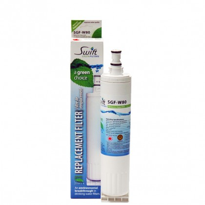 Swift Green SGF-W80 Refrigerator Filter (4396508 Compatible)