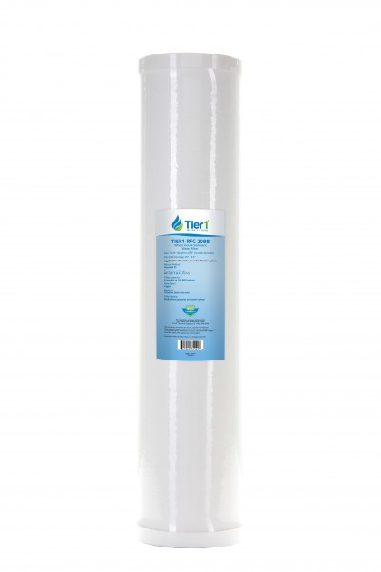 20 X 4.5 Radial Flow Granular Activated Carbon Replacement Filter (25 micron)