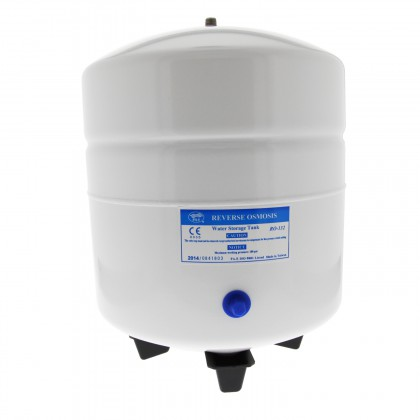 RO-132-W14 - White 3.2 Gallon Reverse Osmosis System Bladder Tank