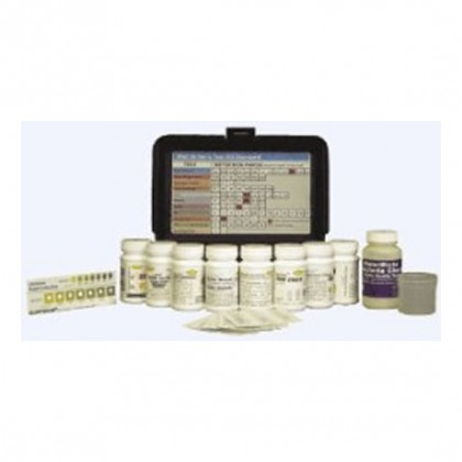 Sensafe Well Drillers Standard Test Kit for Water Quality Testing