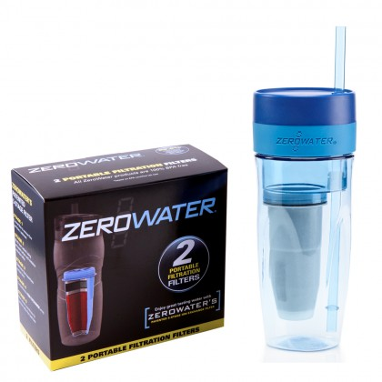 ZTM-01 Filtered Tumbler & Replacement Filter by ZeroWater