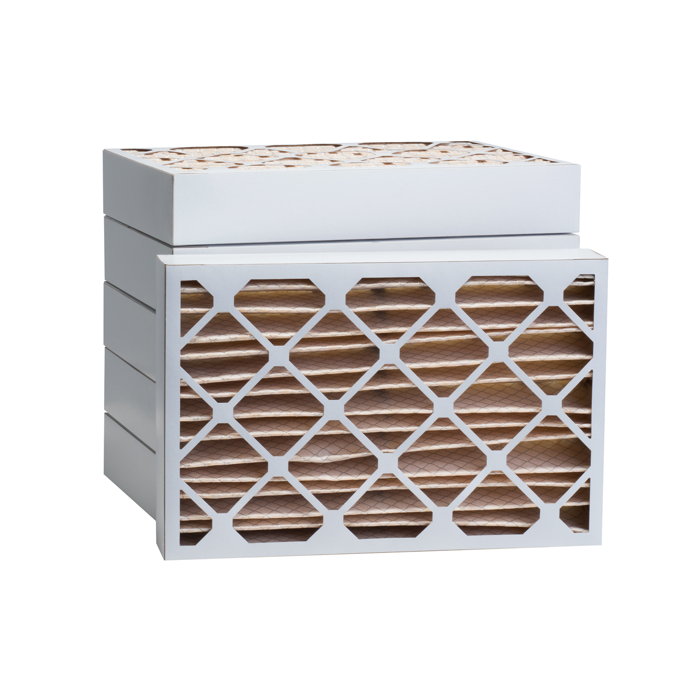Tier1 1500 Air Filter - 16-3/8 x 21-1/2 x 4 (6-Pack) TIER1_P15S_6416F21H_6_PACK