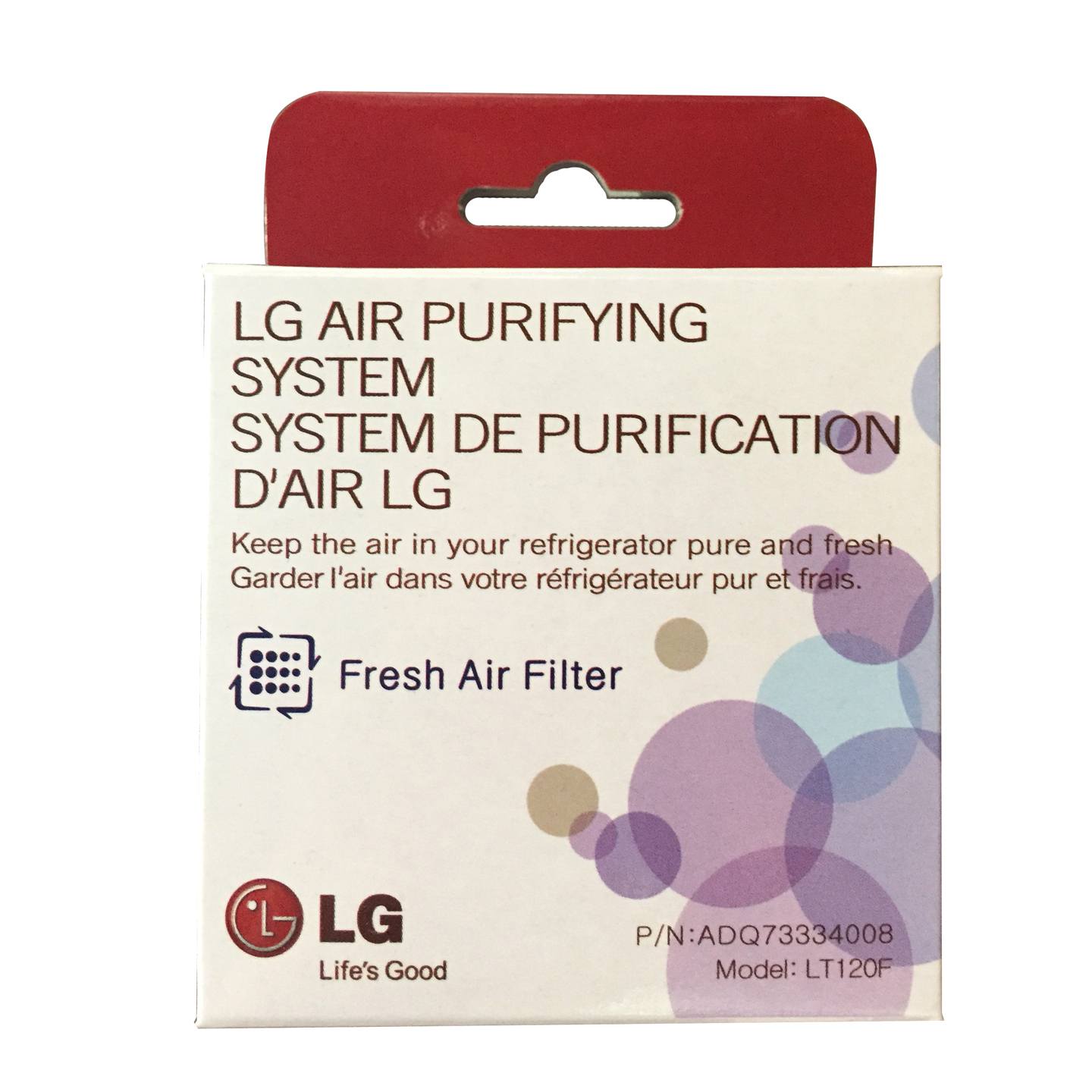 LT120F Fresh Air Replacement Filter by LG LT120F