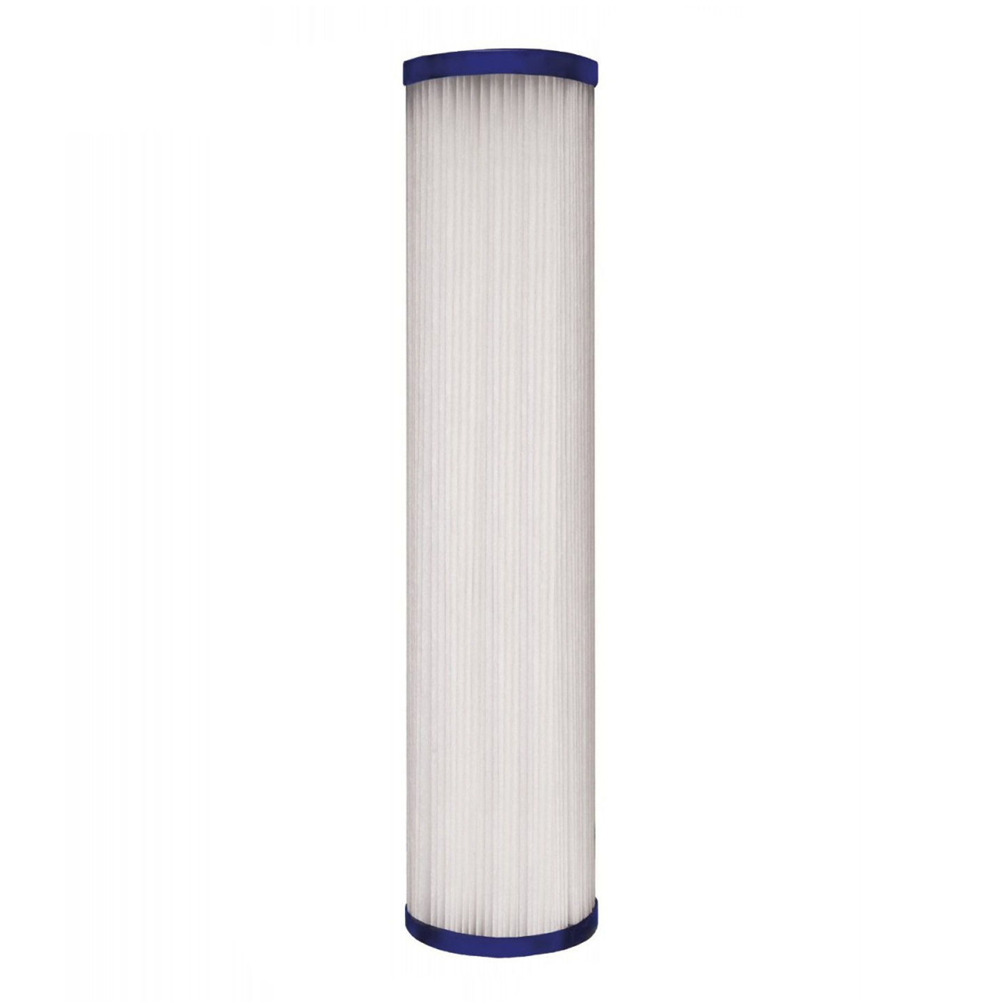 Image of 10-inch x 2.5-inch Comparable Pleated Sediment Water Filter by Tier1 (20 Micron)