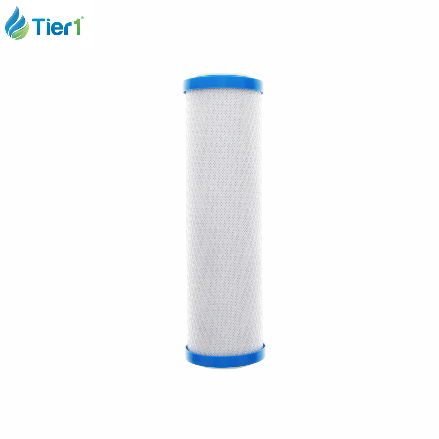 10 x 2.5 Inch Universal Carbon Block Under Sink Filter (0.5 Micron) TIER1-US-D30
