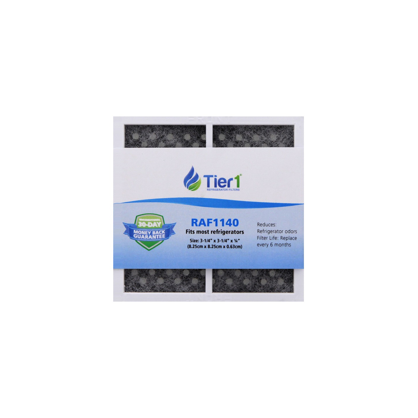 Tier1 RAF1140 Refrigerator Air Filter Replacement (LG LT120F Comparable) TIER1-RAF1140