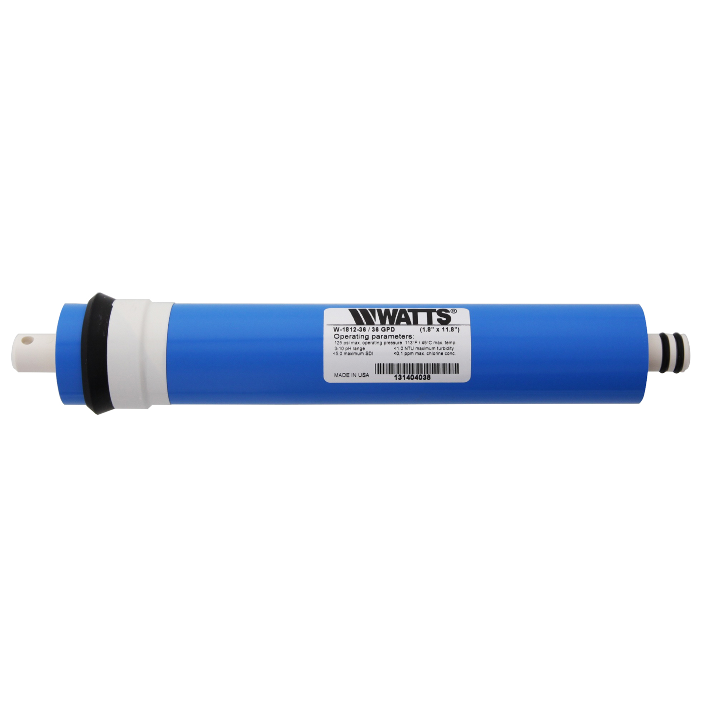 Watts W-1812-36 Replacement Reverse Osmosis Membrane WATTS-W-1812-36