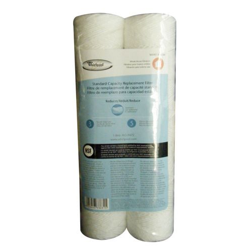 Whirlpool WHKF-WHSW String Wound 5 Micron Sediment Water Filters 2-Pack