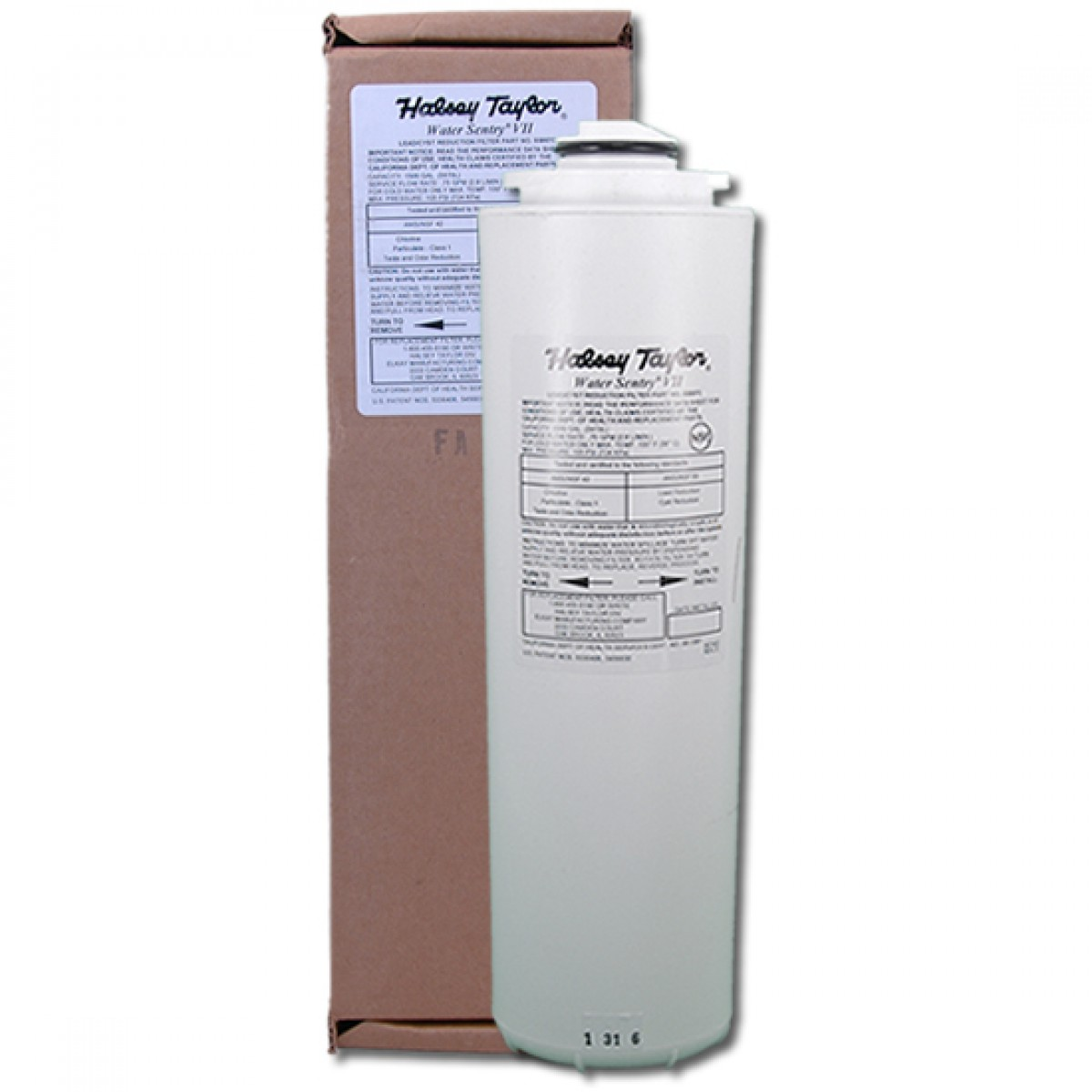 Halsey taylor 55897c water sentry vii drinking fountain filter for Water fountain filtration system