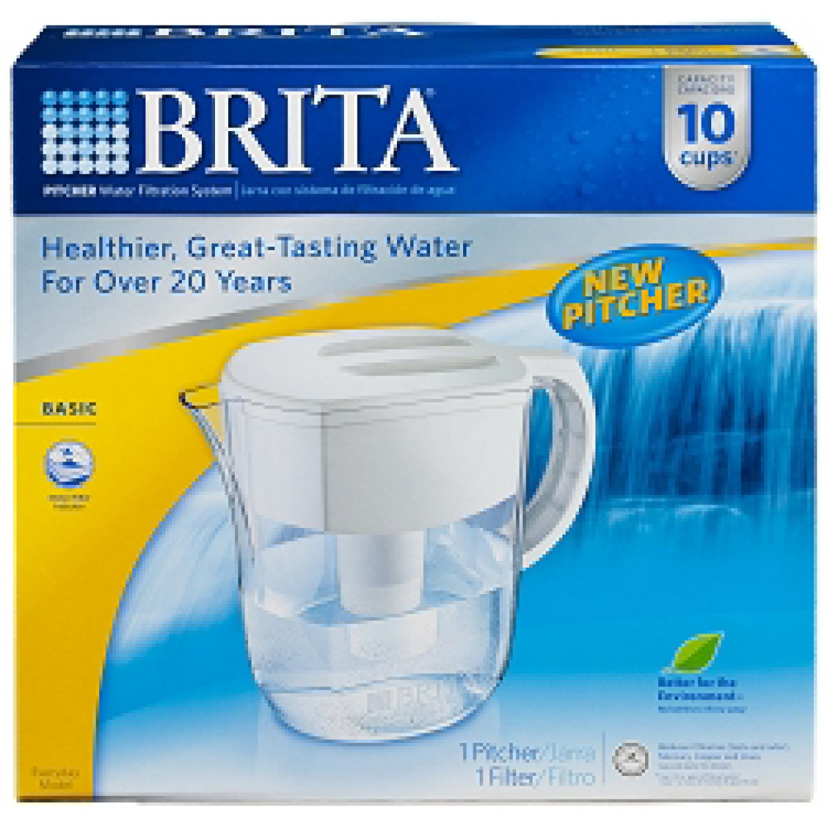 Brita 35509 Everyday Water Filter Pitcher for Water ...