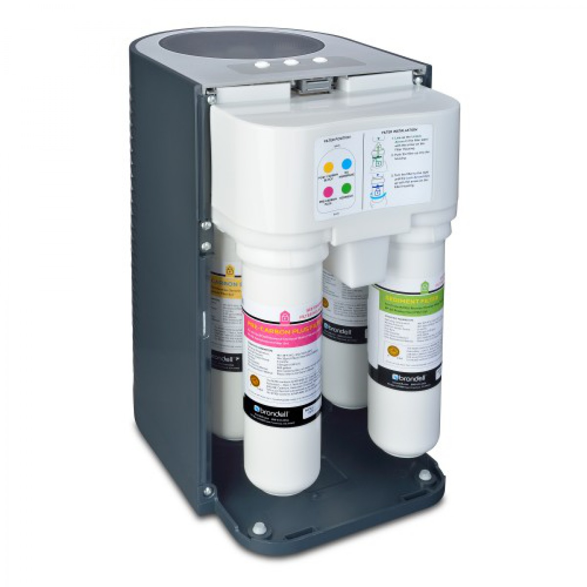 H2o Circle Reverse Osmosis Water Filtration System By