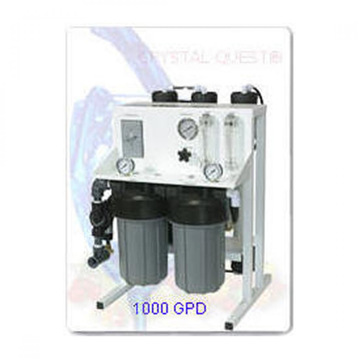 Crystal Quest Commercial Reverse Osmosis 1 000 Gpd Water