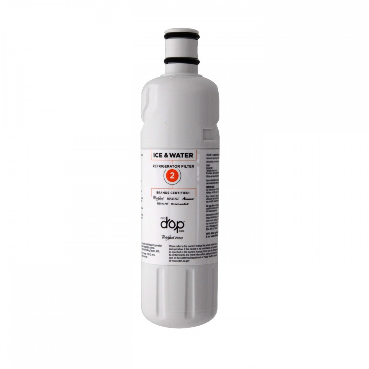 Everydrop Ice And Water Refrigerator Filter 2 By Whirlpool