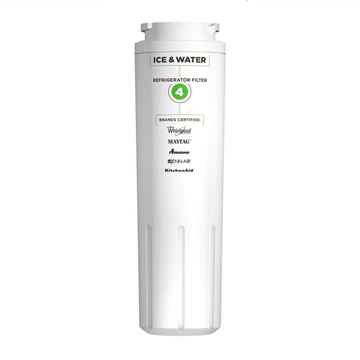 Everydrop ice and water refrigerator filter 4 by whirlpool - Whirlpool refrigerator ice and water filter pur ...
