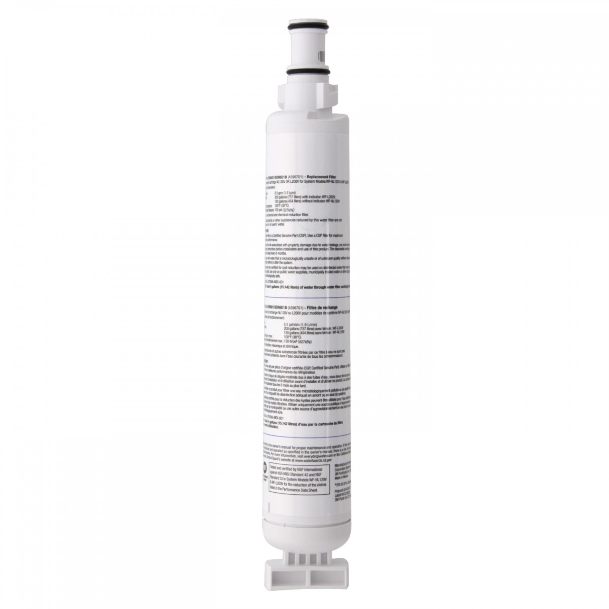 Everydrop ice and water refrigerator filter 6 by whirlpool - Whirlpool pur ice and water filter ...