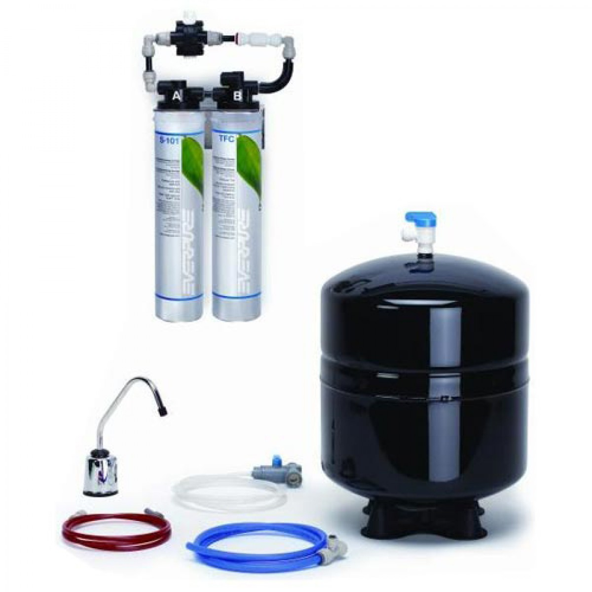 Everpure rom ii reverse osmosis system ev9273 85 for Everpure reverse osmosis