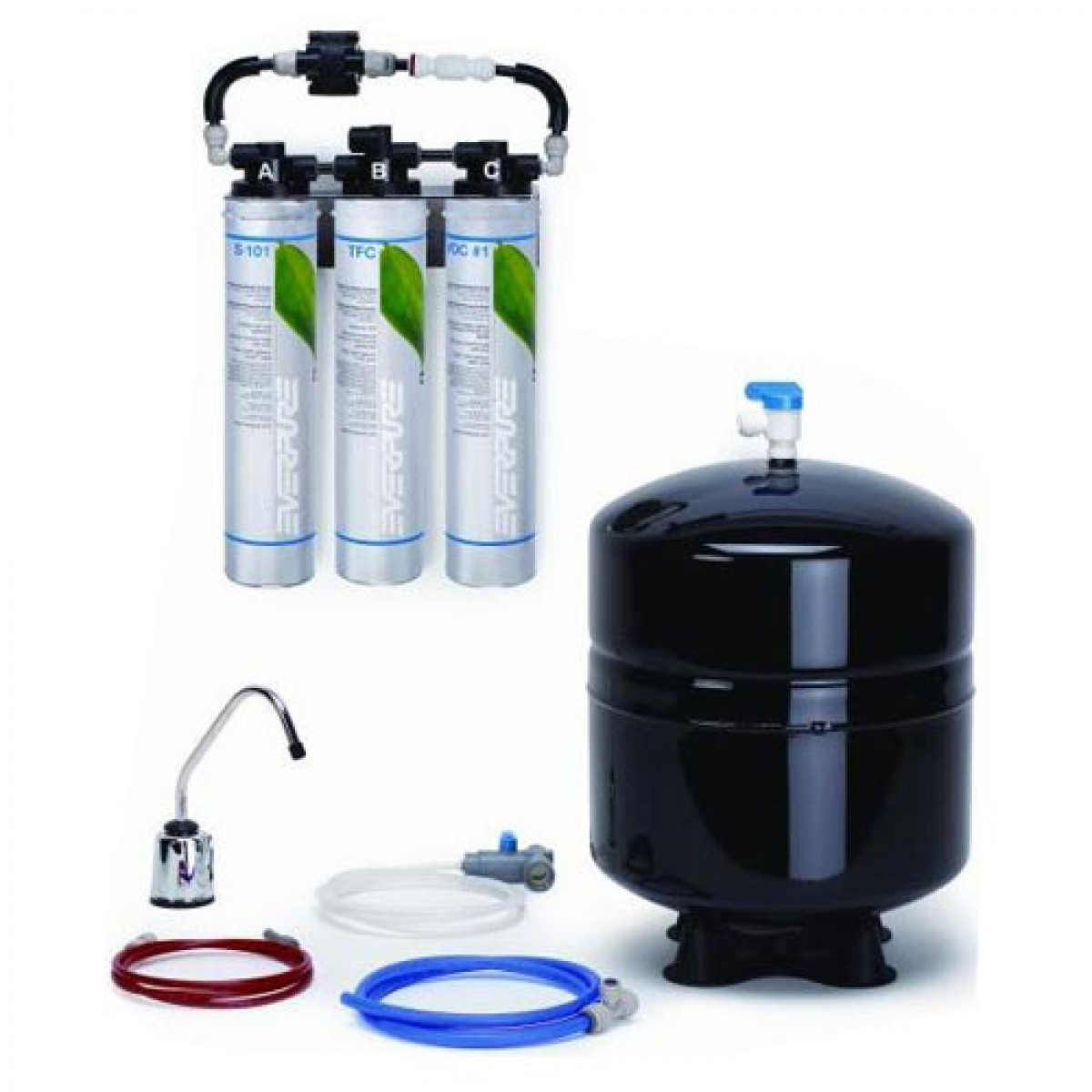 Everpure rom iii reverse osmosis system ev9273 86 for Everpure reverse osmosis