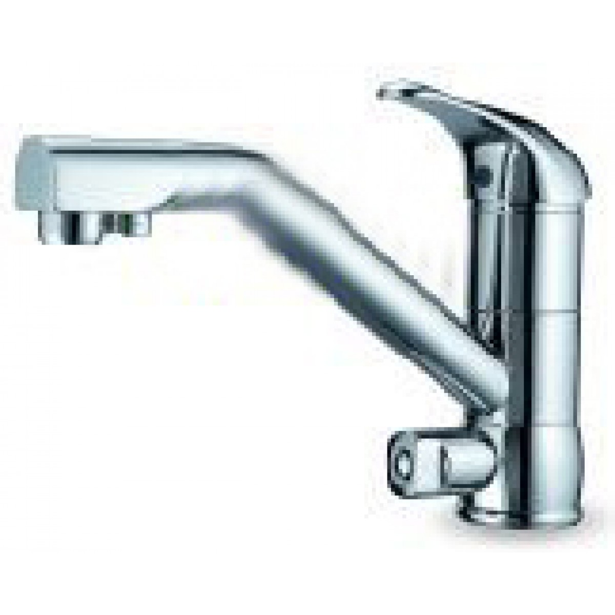 Dual Function Hot Cold And Ro Chrome Classic Faucet Fct