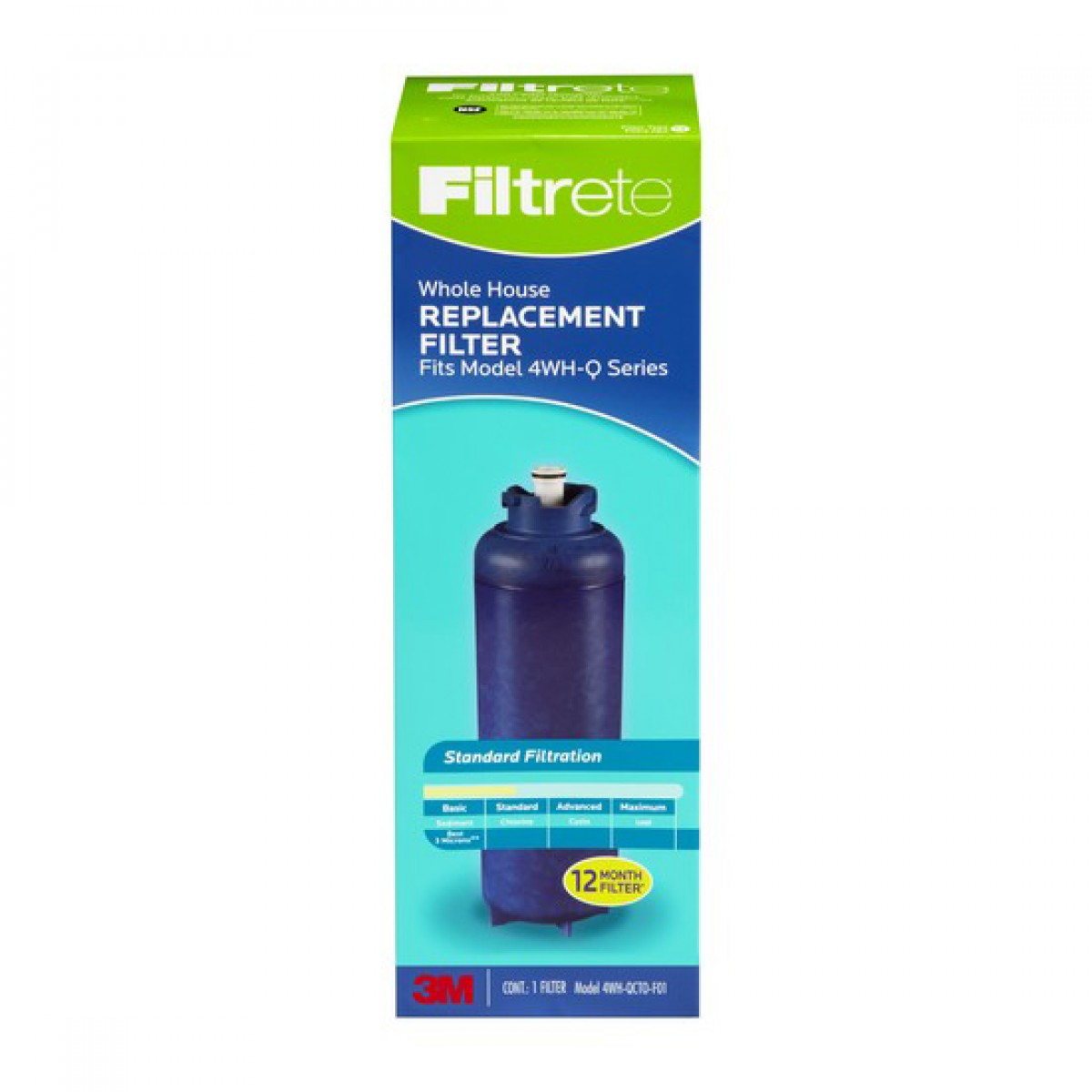 Filtrete 4wh Qcto F01 Replacement Filter Cartridge