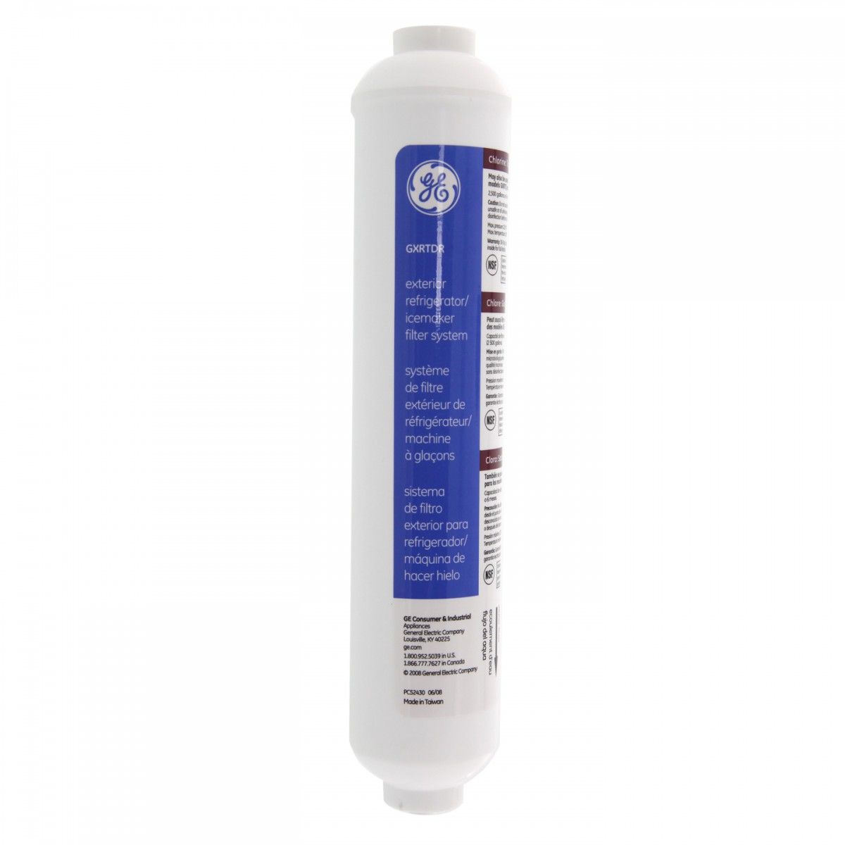 Gxrtdr Ge Smarer Inline Filter Cartridge