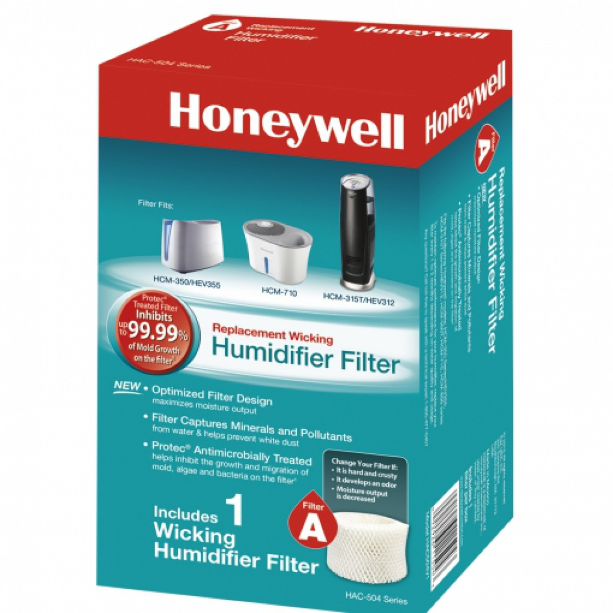 Replacement Humidifier Filter by Honeywell > Catalog Advanced Search #1A8D98