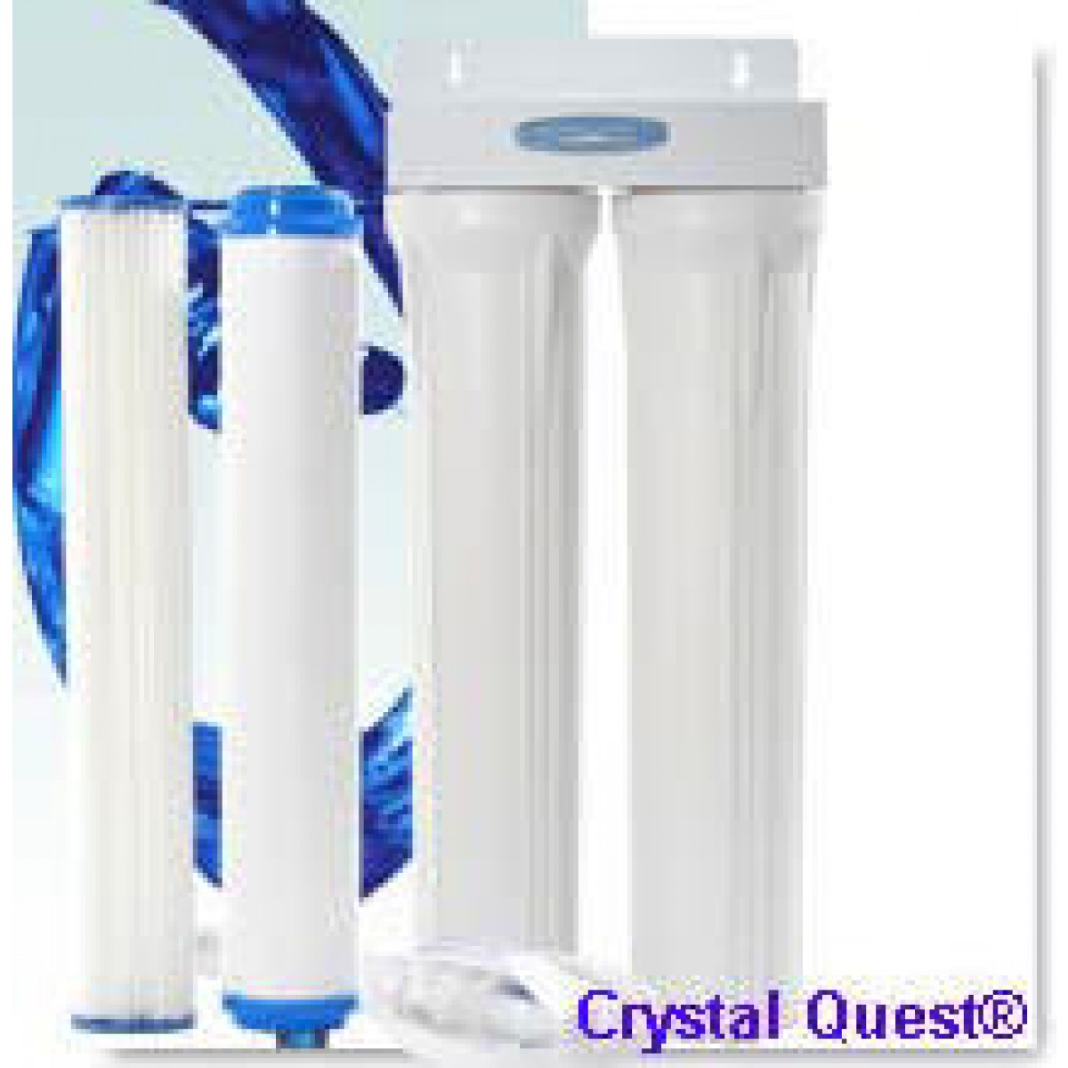 Crystal Quest Commercial 20 In Inline Replaceable Double Multi