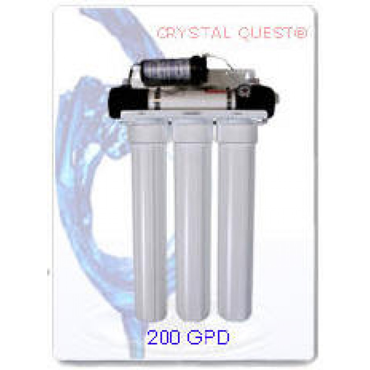 crystal quest commercial reverse osmosis 200 gpd water filter system - Commercial Water Filtration System
