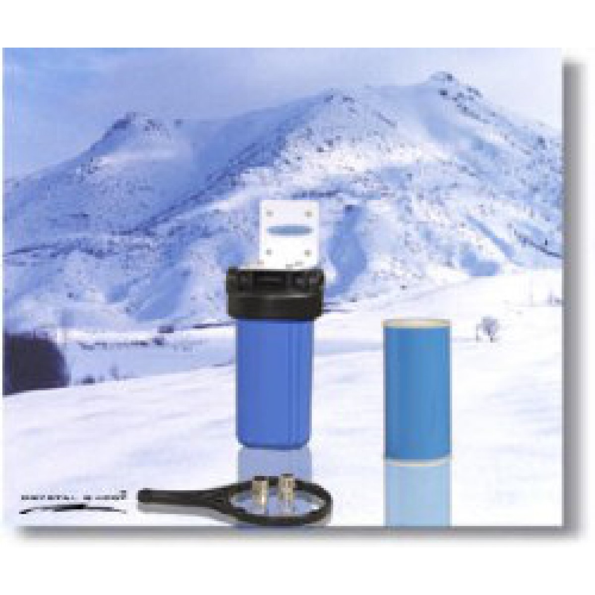3abdc0317cc Crystal Quest Whole House Single 10 in x 5.0 in Water Filter System