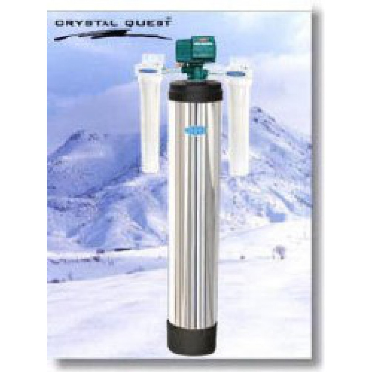 Crystal quest whole house automatic backwash water