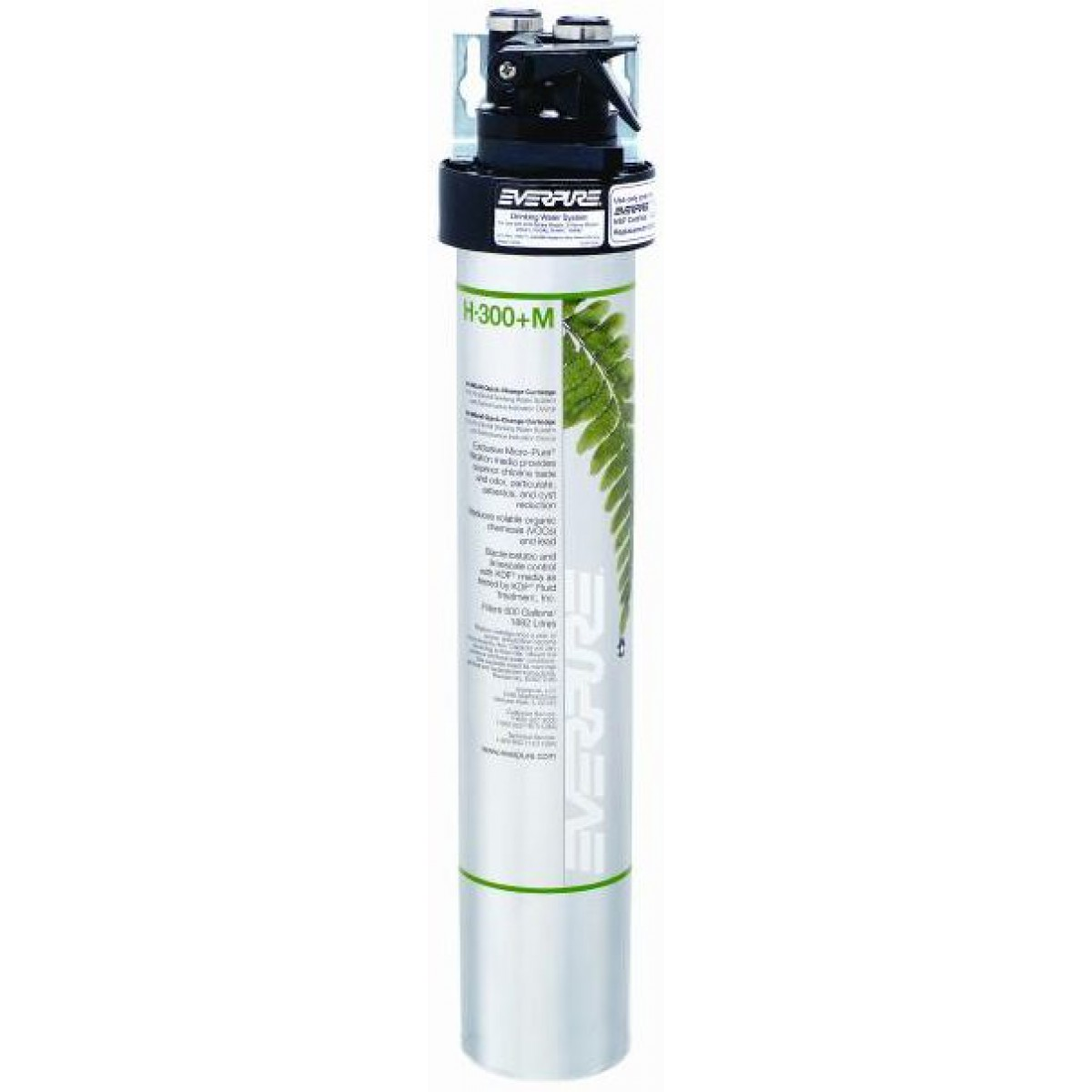 Everpure h 1200 water filtration system ev9282 00 for Everpure water filter review
