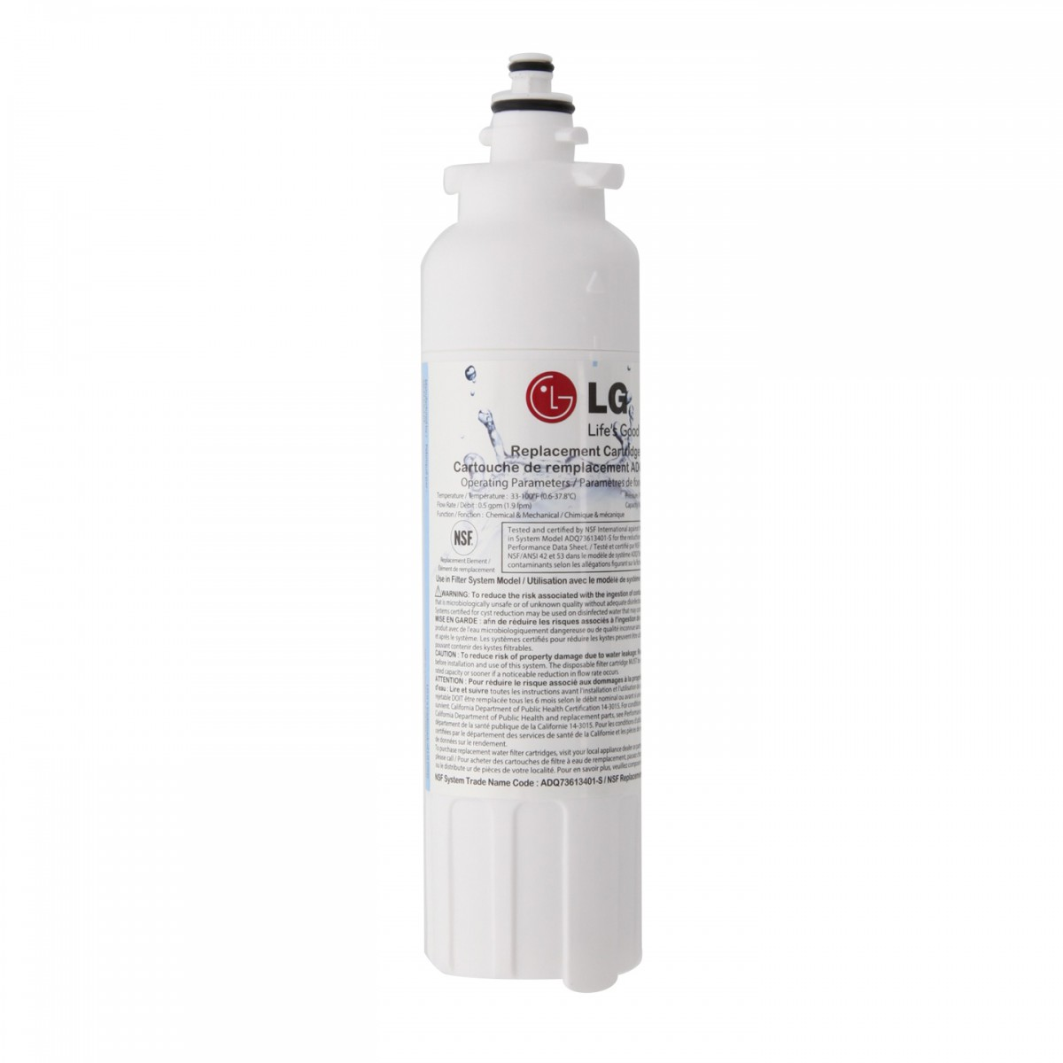 lg refrigerator filter replacement instructions