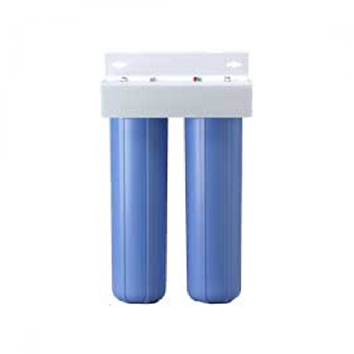 Bbfs 22 two big blue housing water filtration system for Water fountain filtration system