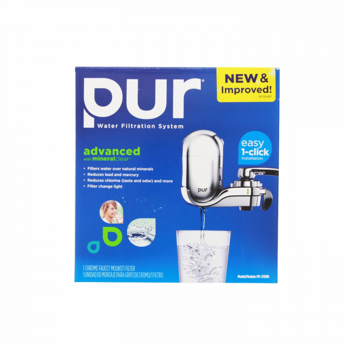 PUR FM-3700 Faucet Filter System and PUR FM3700 Faucet Filters