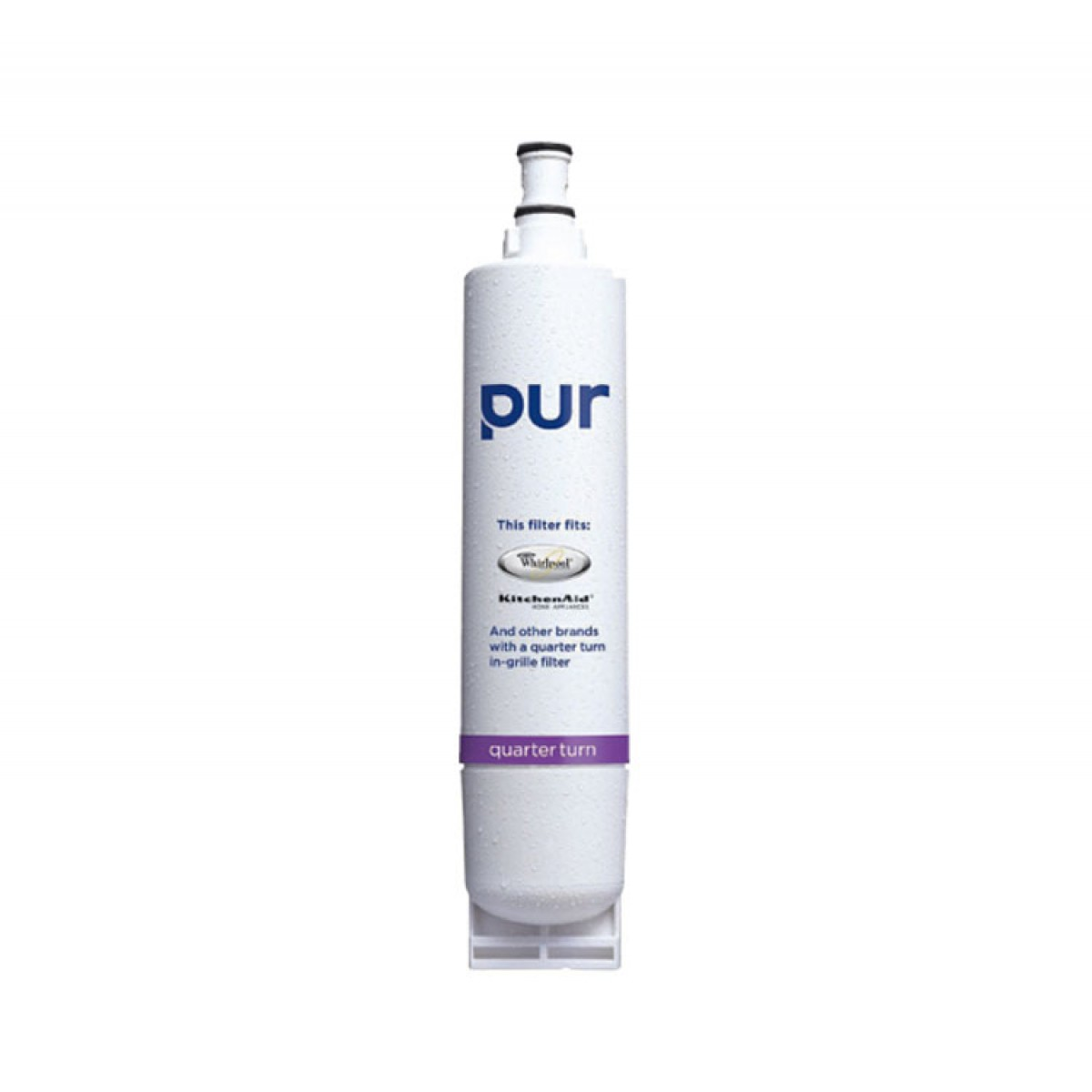 Pur qtss whirlpool quarter turn refrigerator ice and water filter - Whirlpool refrigerator ice and water filter pur ...